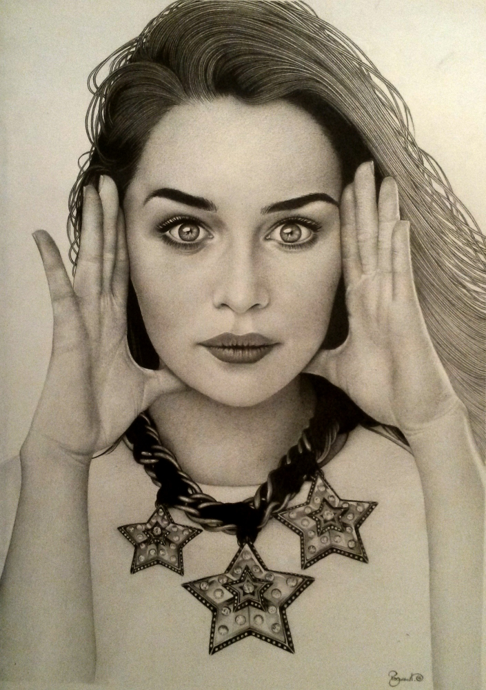 Emilia Clarke par BudPog